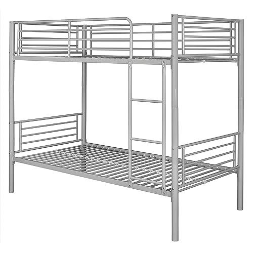 White Metal Bunk Beds Amazon Co Uk