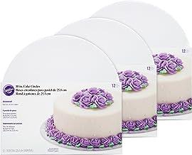 Wilton Cake Boards - 10-Inch White Cake Circles, Set of 36