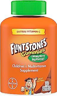 Flintstones Gummies Kids Vitamins with Immunity Support*, Kids and Toddler Multivitamin with Vitamin C, Vitamin D, B12, Zi...