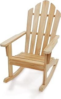 Windsor's Premium Grade A Teak from Indonesian Plantations, Adirondack Rocking Chair 28
