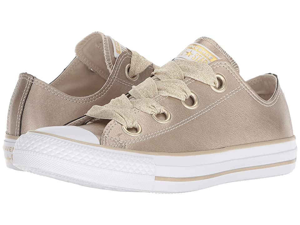 Converse Chuck Taylor All Star Big Eyelets Heavy Metals Ox (Metallic Gold/Gold/White) Women
