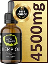 Pure Hemp Drops 4500mg 30ml | Natural Ingredients | Anti-inflammatory | suitable for Vegans & Vegetarians