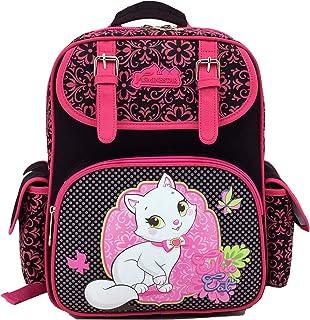 Jasmine Star Children Russian Style New Kids' Satchel Primary School Backpack, Cat