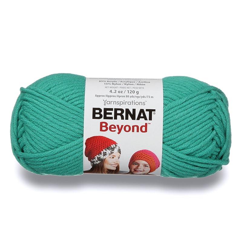 Bernat Beyond Yarn, 4.2 oz, Gauge 6 Super Bulky Chunky, Emerald Green