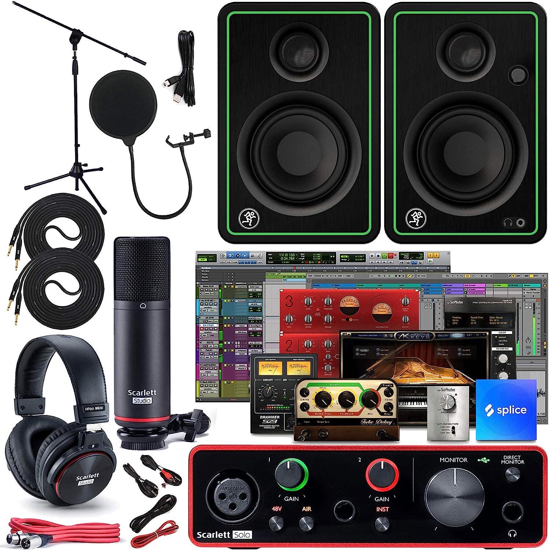 Focusrite Scarlett Solo 2x2 Award-winning store USB Studio Bund Full Interface Audio Ranking TOP2
