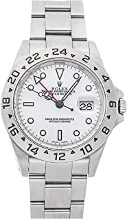 Rolex Explorer II Mechanical (Automatic) White Dial Mens Watch 16570 (Certified Pre-Owned)