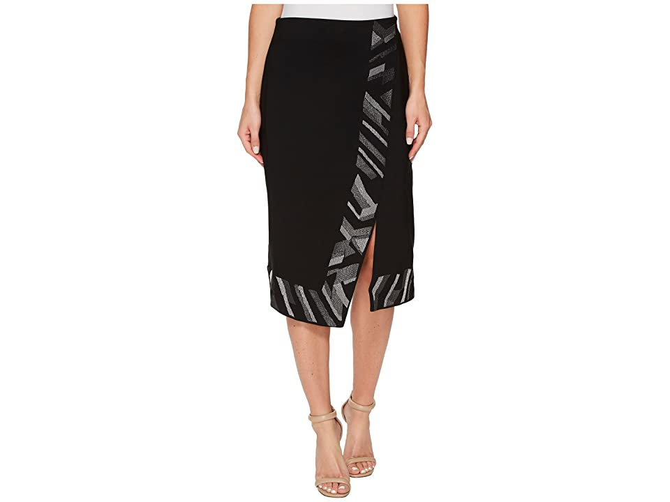 NIC+ZOE Trimmed Time Skirt (Multi) Women