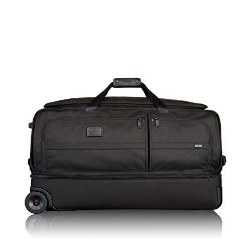 TUMI - Alpha 2 Large Wheeled Split Large Duffel Bag - Rolling Luggage for  Men and 560fe485fca67