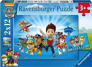 Ravensburger - 07586 - Lot de 2 Puzzles - Ryder et Pat Patrouille - 12 Pièces