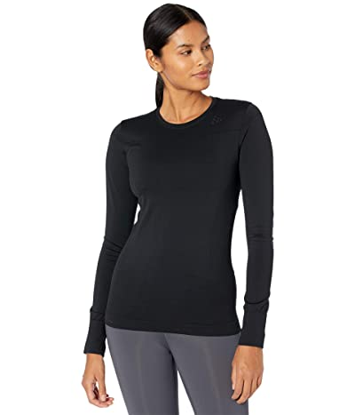 Craft Fuseknit Comfort Round Neck Long Sleeve (Black 2) Women
