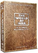 The World At War Complete DVD (11 Discs) DVD Collection Box Set + 11 Featurettes + Photo Galleries + Biographies + Speeches + Songs + Newsreels + Maps