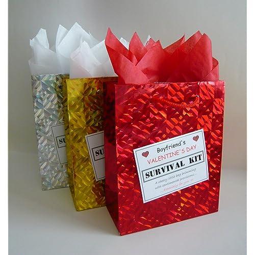 07084f244d68 Boyfriend Valentines Day Survival Kit. Novelty Gift Idea. Fun Romantic  Present.