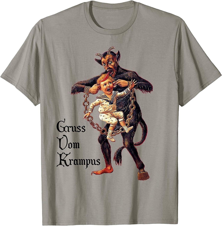 zerogravitee Krampus Greetings Crewneck Sweatshirt