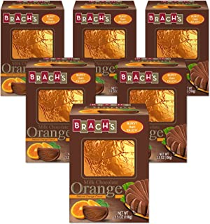 Brach's Fruit Burst Milk Chocolate Orange, 5oz, Pack Of 6