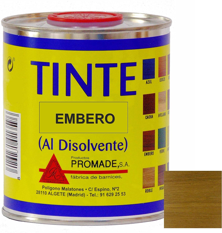 Promade - Tinte al disolvente para teñir la madera. Tonos de ...