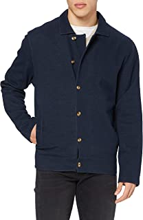 Hackett London Men's Dbl Face Shirt Sweatshirt