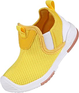 shevalues Toddler Kid's Sneakers Baby Girls Boys Slip On Tennis Shoes