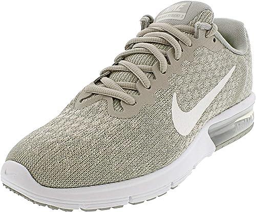 Nike Air Max Sequent 2 Running Damen Turnschuhe Lauf-Schuhe Beige Beige Beige Grau 852465-011  erste Antwort