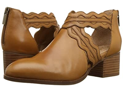Seychelles All Together Bootie (Cognac Leather) Women