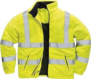 Men's Lined Hi-Vis Fleece Jacket