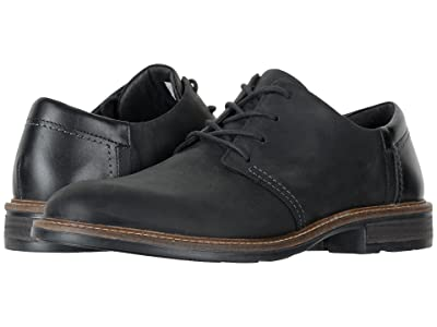Naot Chief (Oily Coal Nubuck/Black Raven Leather/Onyx Leather) Men