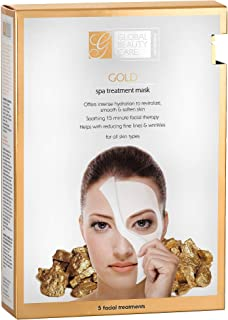 Gold Spa Treatment Mask