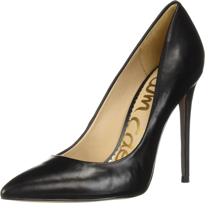Sam Edelman Woherren Danna Pump, schwarz Leather, 5 M US