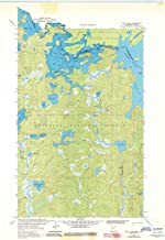 Historic Pictoric - Minnesota Maps - 1963 Iron Lake, MN USGS - Topographic Wall Art : 24in x 36in