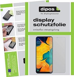 dipos I 6X Protector de Pantalla Mate Compatible con Samsung Galaxy A30s pelicula Protectora