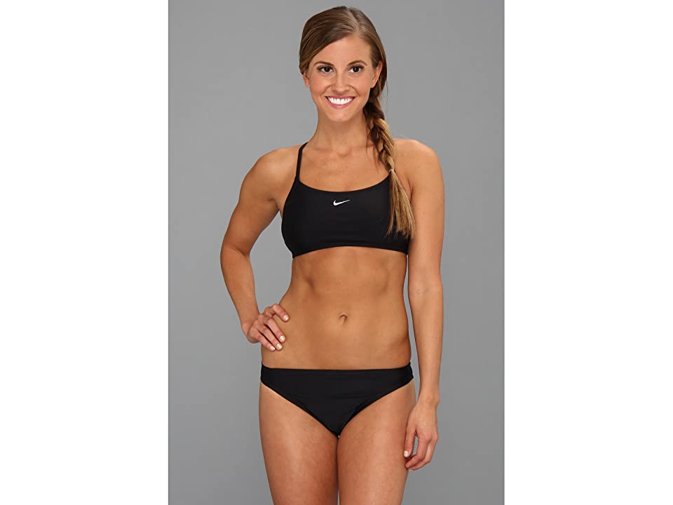 Nike Core Solids Sport 2-Piece (Black) Women