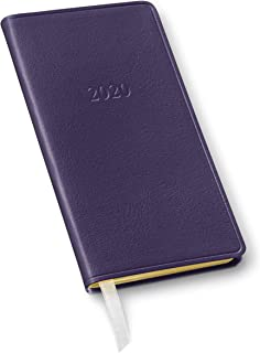 2020 Pocket Weekly Leather Planner by Gallery Leather - Open Format 6