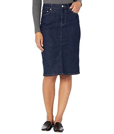 LAUREN Ralph Lauren Denim Skirt (Rinse Wash) Women