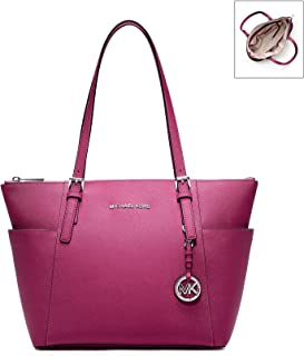 c108c4e6f4eb Amazon.com  Michael Kors - Pinks   Totes   Handbags   Wallets ...