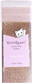 KittyKraft 4.5oz (130g) Extra Fine Glitter Single (Rose Gold)
