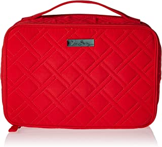 Vera Bradley Women's Microfiber Large Blush & Brush Makeup Organizer Case