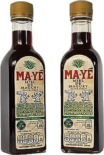 Miel de Maguey, Certificado Orgánico, 2 piezas 250 ml. c/u.