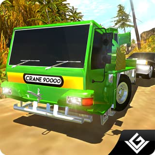 Heavy Machinery Excavator Simulator 3D: Offroad Crane Rescue Adventure Mission Games Free For Kids 2018