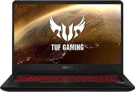 "ASUS TUF Gaming FX705DY-AU017 - Portátil Gaming de 17.3"" FHD (AMD Ryzen 5 3550H, 8 GB RAM, 512 GB SSD, AMD Radeon RX 560X, Sin Sistema operativo) Negro (Red Matter) - Teclado QWERTY Español"