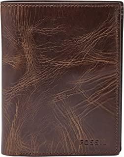 Fossil Derrick Dark Brown Men's Wallet (ML3686201)