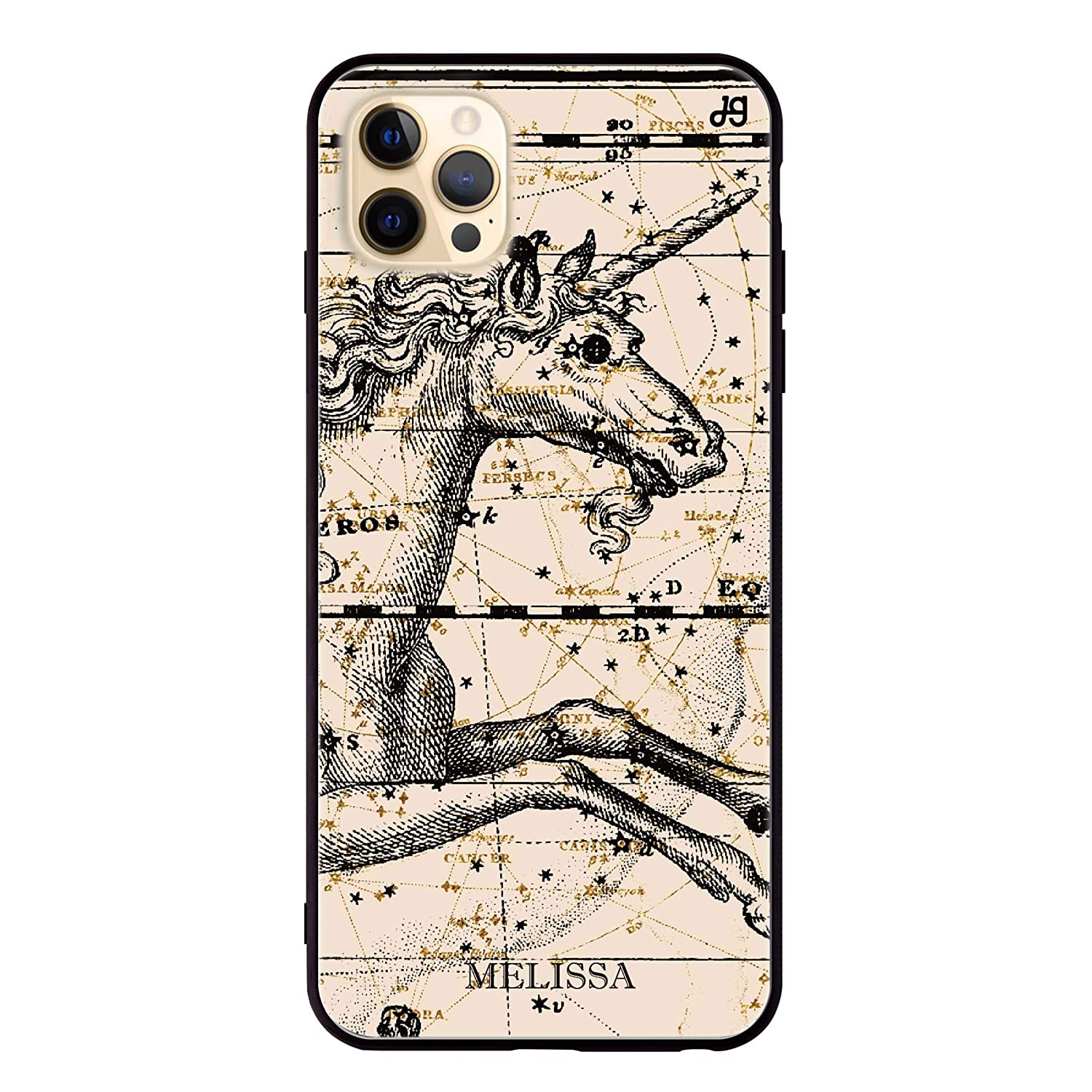 Star Map Unicorn Recommended iPhone 12 Max Glass New Shipping Free Shipping Pro Case