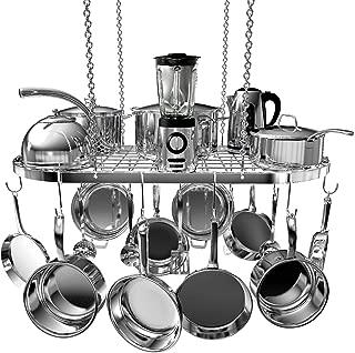 Best steel pot rack Reviews