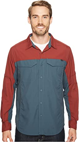 Silver Ridge Blocked Long Sleeve Shirt