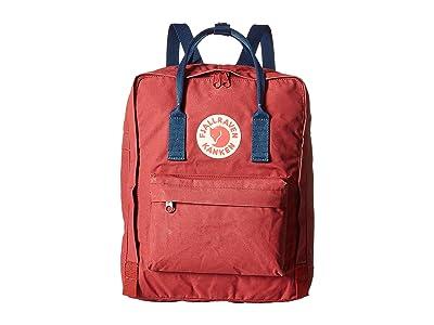 Fjallraven Kanken (Ox Red-Royal Blue) Backpack Bags