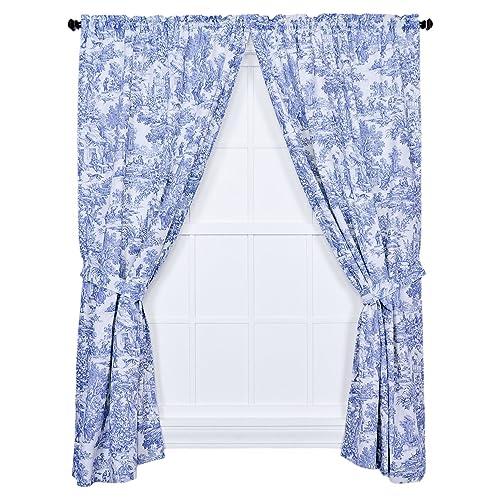 Toile Curtains Amazon Com