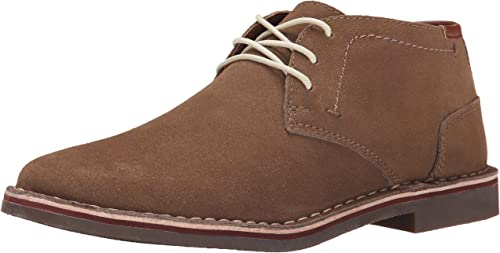 Kenneth Cole REACTION Men's Desert Sun SU Chukka Stiefel, Taupe Suede, 7.5 M US