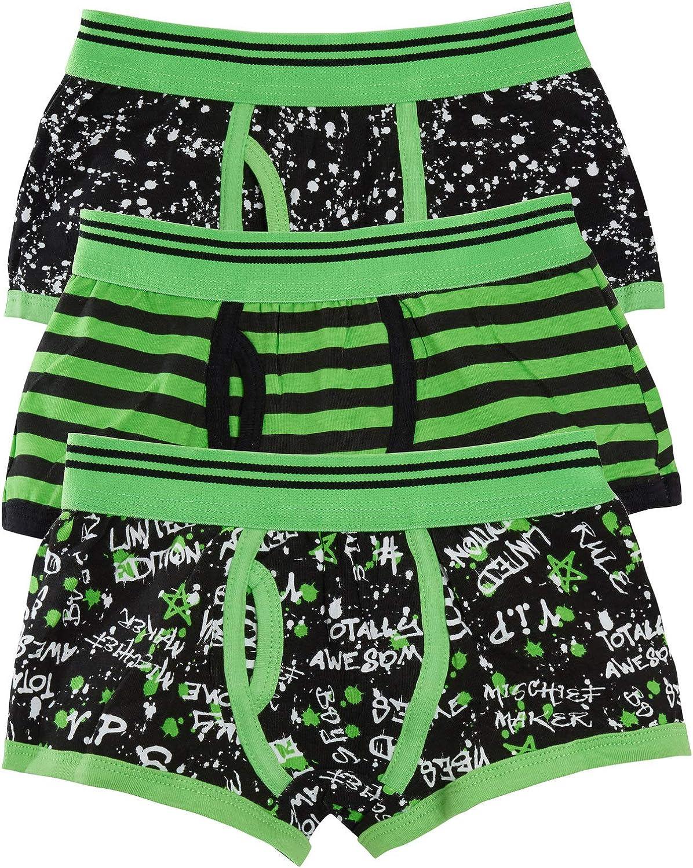 Lora Dora Boys Multipack Boxer Shorts Kids Childrens Elasticated Underwear Football Gamer Trunks Pants Briefs (Pack of 3)