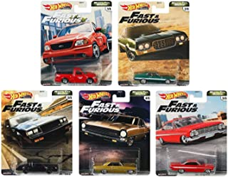 Hot Wheels Premium 2020 Fast & Furious Motor City Muscle Set of 5