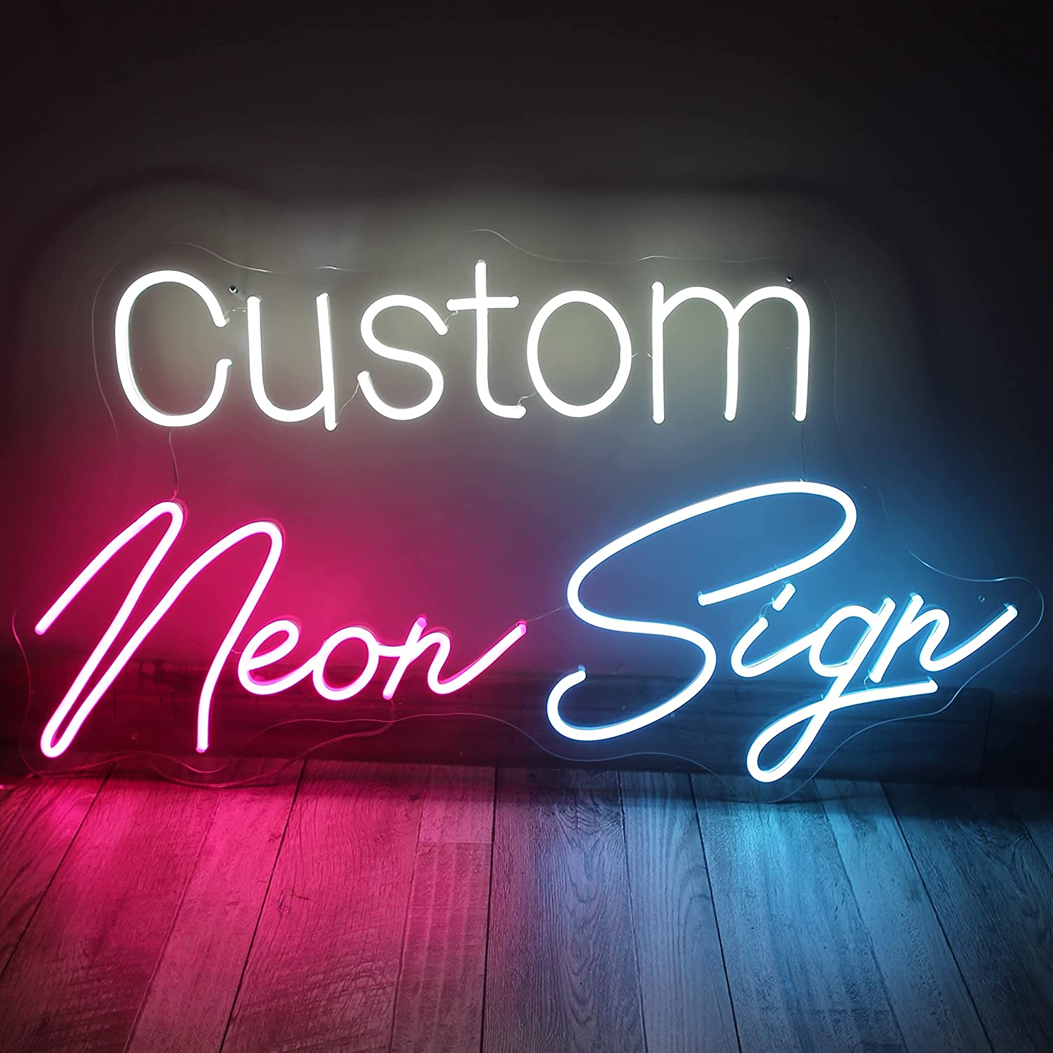 Personalized Neon Signs Upon Request, Customize Your Sign Here Handmade Signs for Wall Decor Wide Application Custom Neon Sign; Bedroom Living Room Party Office Wedding and Bar (40