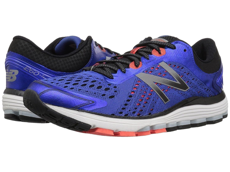 (ニューバランス) New Balance メンズランニングシューズ?スニーカー?靴 1260 V7 Pacific/Black/Flame 15 (33.cm) 4E - Extra Wide