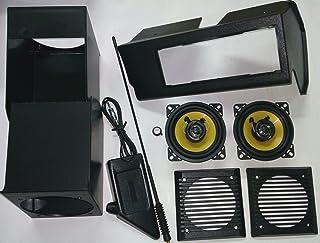 5 Portes JUEASY320 Coffre de Toit verrouillable avec Barres de Toit VDPLION2 Compatible avec Fiat Panda II Cross 04-14
